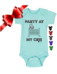 Fayfaire Boutique   Funny Baby Clothes Party at My Crib NB-18M