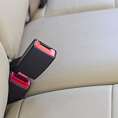 Buckle Up and Drive Safely Again 3-Pack 7 Rigid Seat Belt Lengthening Accessory with 7//8 Inch Metal Tongue Width E-Mark Safety Certification