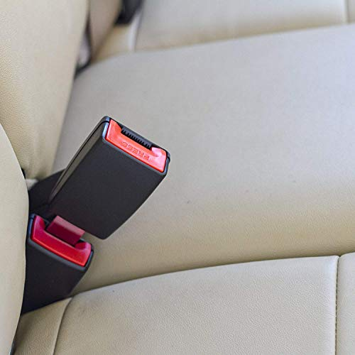 7//8 Inch Wide Metal Tongue, Type A Seat Belt Extender Pros E4 Safe Certified Rigid 5 Inch Seat Belt Extender Drive Safely and Buckle Up Again Black, 1-Pack