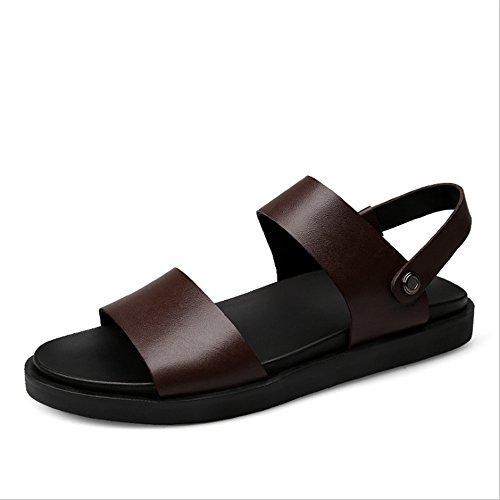 Scarpe 24 Sandali da 40 Pelle 0 3 Dimensione Sportivo Rosso Per 5 Esterno Rosso CM EU Colore spiaggia Da In Antiscivolo Sandalo 27 Uomo 2 pantofole Wagsiyi 0TP7BIqaw