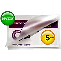 Qty 200 Matte File Card Laminating Pouches 5 Mil 3-1/2 x 5-1/2
