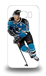 Awesome Galaxy Defender Tpu Hard Case Cover For Galaxy S6 NHL San Jose Sharks Patrick Marleau #12 ( Custom Picture iPhone 6, iPhone 6 PLUS, iPhone 5, iPhone 5S, iPhone 5C, iPhone 4, iPhone 4S,Galaxy S6,Galaxy S5,Galaxy S4,Galaxy S3,Note 3,iPad Mini-Mini 2,iPad Air )
