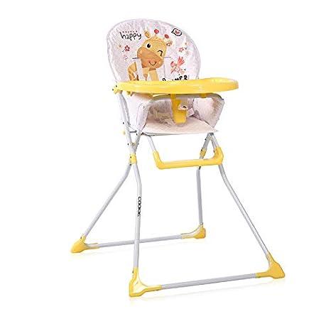 Lorelli Hochstuhl f/ür Babys Gelb Cookie 1 St/ück