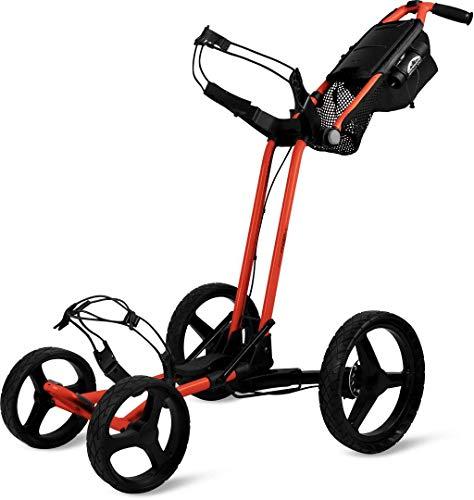 Sun Mountain Pathfinder 4 Golf Push Cart Inferno/Black