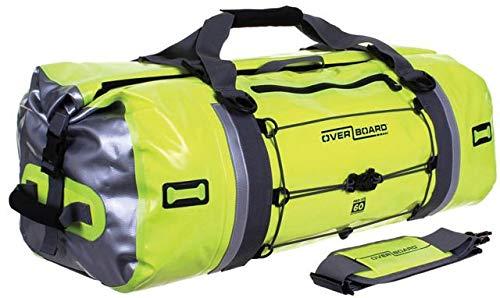 (OverBoard Waterproof Pro-Vis Duffel Bag, Yellow, 60-Liter)