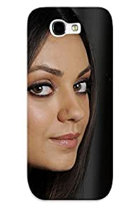 Galaxy Note 2 Hard Back With Bumper Silicone Gel Tpu Case Cover For Lover's Gift Mila Kunis