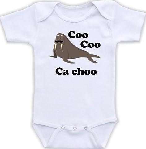 Coo Coo Ca Choo - Cute Baby Bodysuit (Newborn Long Sleeve Bodysuit) (Simon And Garfunkel Lyrics)