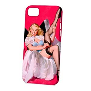 Case Fun For HTC One M9 Case CoverVogue Version - 3D Full Wrap - Sheer Comfort Pin Up Girl