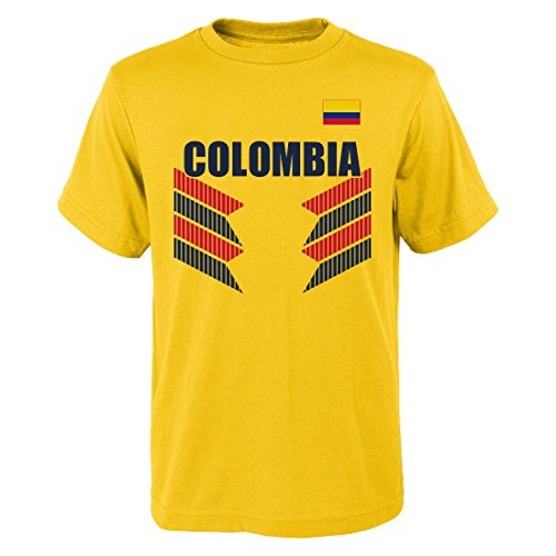 OuterStuff Team Colombia World Cup Soccer Federation One Team Men's T-Shirt