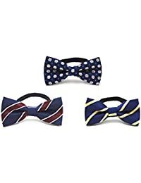 C.X Trendy Adjustable Boys Bow Tie Collection - Set of 3 (set2)