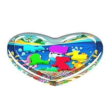 Inflatable Baby Water Cushion,SuperUS Inflatable Baby Water Mat Fun Activity Play Center for Children & Infants