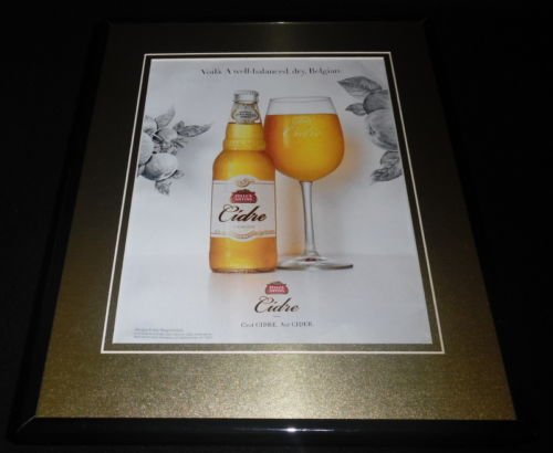 2016-stella-artois-cidre-11x14-framed-original-advertisement-b