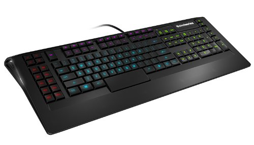 SteelSeries Apex, Gaming-Tastatur, 4 einzelne RGB-Backlight-Zonen, 22 Makro-Tasten, (PC) - Deutsches QWERTZ Tastaturlayout