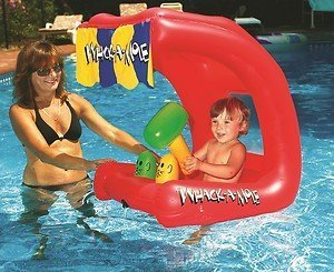 Water Sports Baby-Bopper Inflatable Swimming Pool Baby Seat by Swim Central