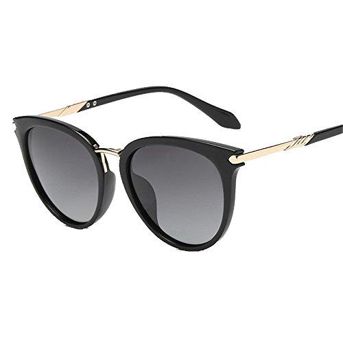 de circulares de conductor de cara el pequeña polarizadas sol gafas gafas finas Cenizas sol de Gafas sol sol Negro de Shop polarizadas por 6 Gafas ETBwqxO7