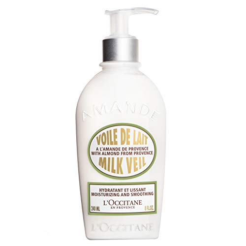 L'Occitane Ultra-Light Almond Body Milk Veil, 8.4 fl. oz.