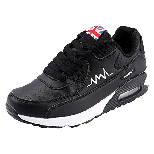 para Mujer Correr Kivors de Negro Deporte Asfalto Mujer Aire Libre Casual Gimnasio y Zapatillas Transpirables de Correr Zapatos Deportes Zapatos Montaña wtqxprY0q