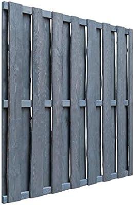ghuanton Puerta de Valla de Madera Pino impregnada FSC 180x180 cm grisBricolaje Vallas de jardín Puertas de jardín: Amazon.es: Hogar