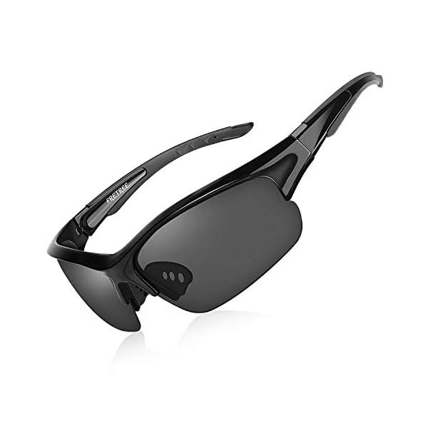 Polarized Sunglasses for Men Women – UV Protection TR90 Unbreakable Sports...