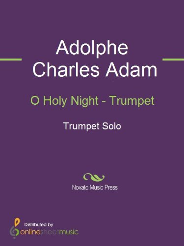 O Holy Night - Trumpet
