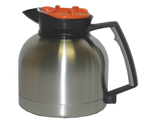 Grindmaster-Cecilware SS-1.9 LR 1.9L SS Vacuum Insulated Decanter with Brew Through (Grindmaster Vacuum)