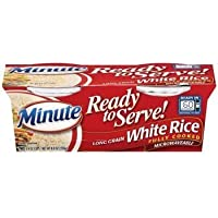 Minute Ready to Serve Long Grain White Rice 2 - 4.4 Oz Cups (Pack of 4) - SET OF 2