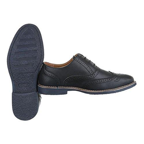 Chaussures homme Design Ital lacets Noir à Ta7xqz5