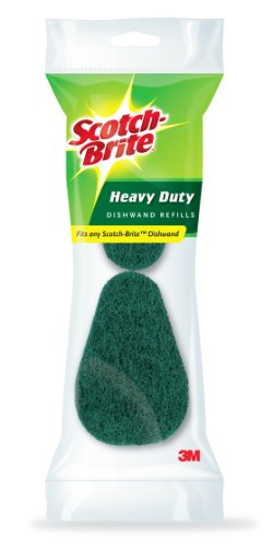 Scotch-Brite Heavy Duty Dishwand Refills, 2/Pack