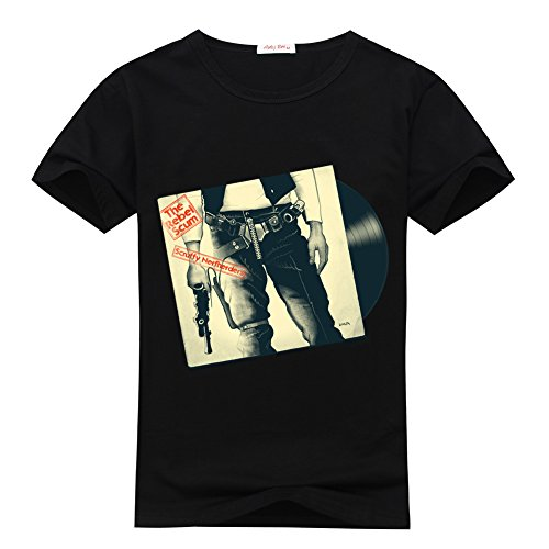 Wasflo The-Rebel-Scum-Sticky-Tunes Logo Women's Classic T-shirt Medium Black
