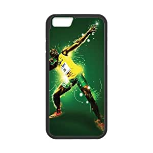 iPhone 6 Plus 5.5 Inch Cell Phone Case Black Usain Bolt Dchks