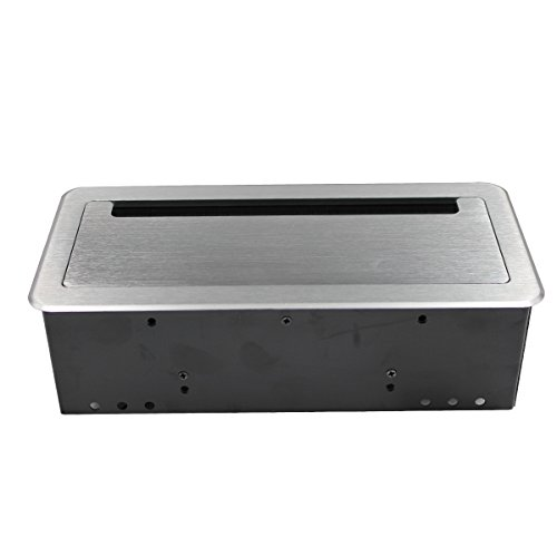 Multimedia Desktop Socket Tabletop Conference Table Connectivity Box - Conference table power box
