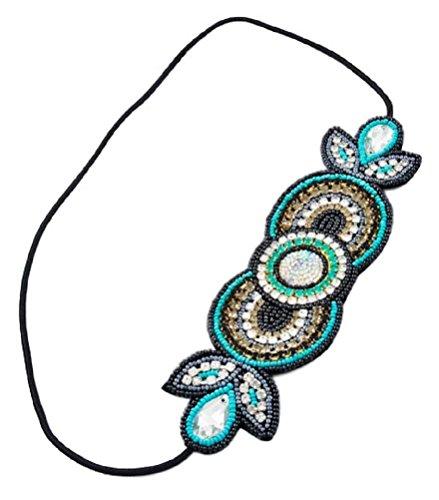 [Beaded Headband Wedding, Event or Everyday Hair Jewelry (BOX KK)] (Best Hollywood Costumes Designers)