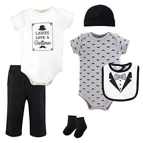 Hudson Baby Unisex Baby Layette, Ladies Love, 6-Piece Set, 9-12 Months (12M)