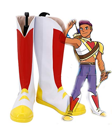 (She-Ra Princess of Power Bow Cosplay Shoes Costume Boots Custom Made)