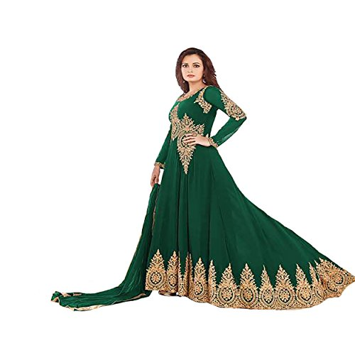 Eid Muslim Ethnic Straight Bridal Heavy Designer Women Hijab Indian Anarkali Salwar Kameez suit 9309