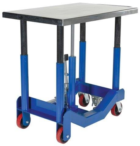 Adjustable Table - BPT12 Series; Platform Size (W x L): 24'' x 36''; Capacity: 2,000 lbs; Service Range: 25'' to 37''; Power: Foot Pump by Beacon World Class Products