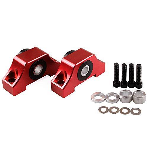 Tasan Racing Engine Billet Motor Torque Mount for Honda Civic EG EK B16 B18 B20 D16 Red