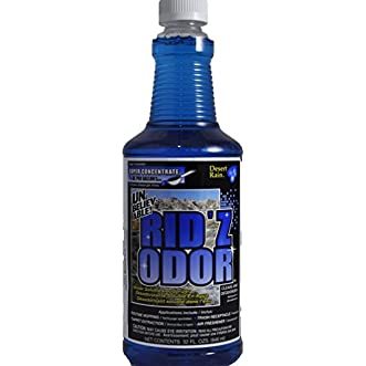 Unbelievable Rid z Odor Super Concentrate, Desert Rain 32 oz. (Case of 2)