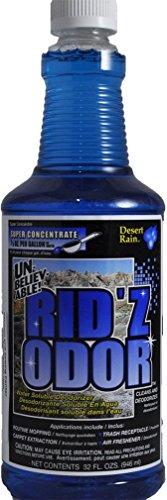 Unbelievable Rid'z Odor Super Concentrate, Desert Rain 32 oz. (Case of 2) by Core