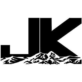 Amazon Com 2pc Jk Mountain 4 Quot X 5 Quot Set Decal Sticker