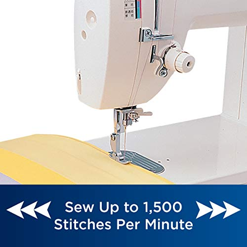 Brother Quilting and Sewing Machine, PQ1500SL, High-Speed Quilting and Sewing, 1500 Stitches Per Minute, Automatic Needle Threader, Retractable Drop Feed Dog Control
