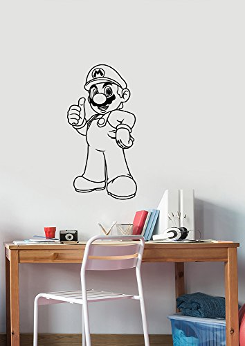 Video Game Vinyl Decal Removable Wall Sticker Art Housewares Decorations for Home Kids Children Boys Room Decor sum6