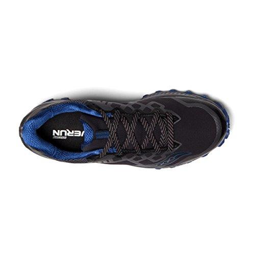 Blue Saucony GTX da Schwarz Running Scarpe 001 8 Black Uomo Peregrine Grey ppqrwBTv