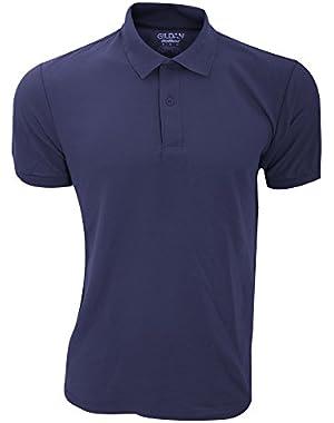Mens DryBlend Adult Sport Double Pique Polo Shirt
