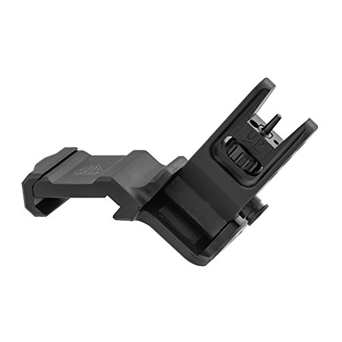 - UTG Accu-Sync 45 Degree Angle Flip Up Front Sight, Black