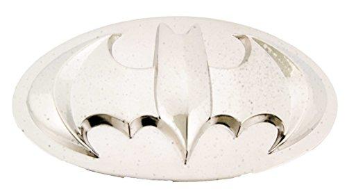BATMAN Oval Silver Shiny Belt Buckle