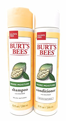 Burt's Bees More Moisture Baobab Shampoo and Conditioner Combo 10 fl -