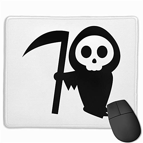 LIminglove Halloween Pumpkin Stencils Witch Gaming Mouse Pad,Non-Slip and Dust-Proof Mouse,Funny Creative Mouse pad -