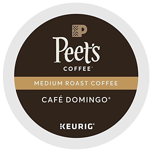 Peet's Coffee & Tea Coffee Cafe Domingo Grade K-Cup Portion Pack for Keurig K-Cup Brewers, 88 Count by Peet's Coffee