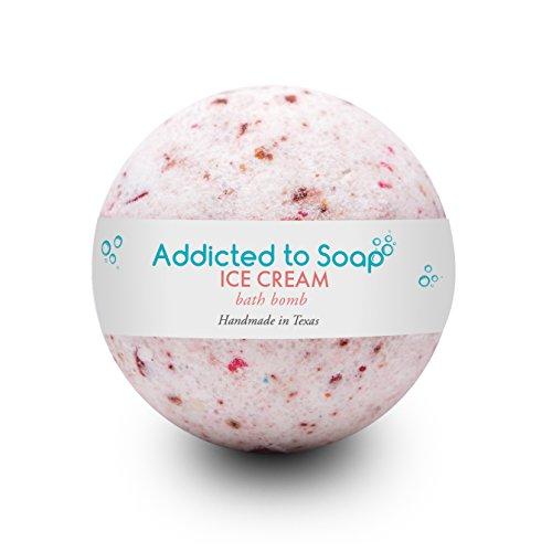 Addicted to Soap – Ice Cream   Ultra Luxurious Bath Bombs